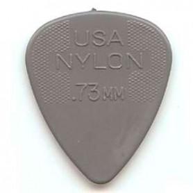 Púas Dunlop Nylon Standard 0.73 mm.