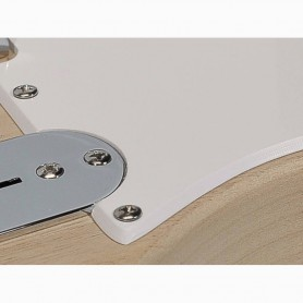 Tele Style 1 Ply Vintage White Pickguard
