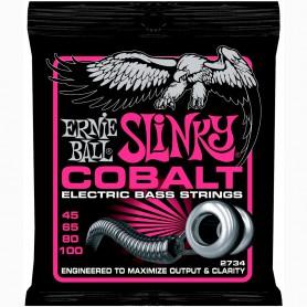 Ernie Ball 2734 Cobalt Slinky Bass Strings 45-100