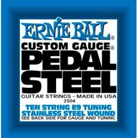 Cordes Pedal Steel Ernie Ball E9 Tuning 10 String Set 2504