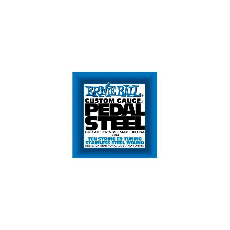 Cuerdas Pedal Steel Ernie Ball E9 Tuning 10 String Set 2504