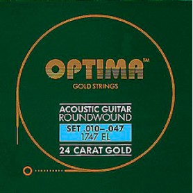 Cuerdas Acústica Optima Gold 10-47