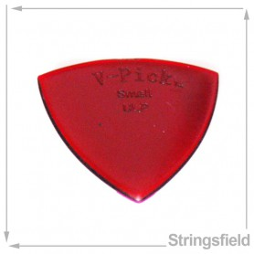 V-Picks Ruby Red Small Pointed Ultra Lite