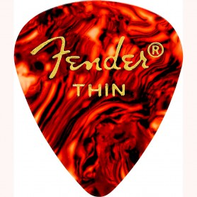 Púa Fender 351 Premium Celluloid Shell Thin