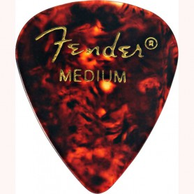 Fender 351 Premium Shell Celluloid Guitar Pick Medium