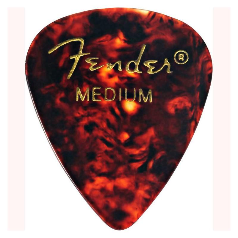 Púa Fender 351 Premium Celluloid Shell Medium