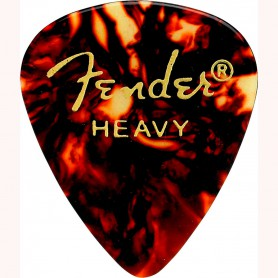 Fender 351 Premium Shell Celluloid Guitar Pick Heavy