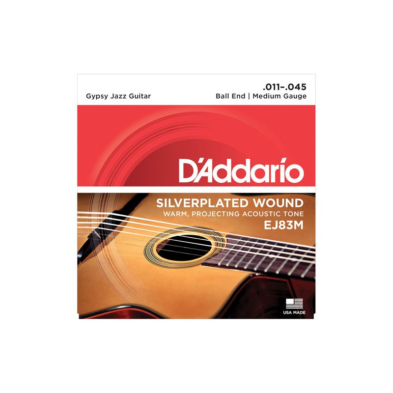 Cuerdas-D´Addario-Gypsy-Jazz EJ83M 11-45 Ball End