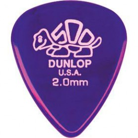 Púas Dunlop Delrin 2.00 mm.