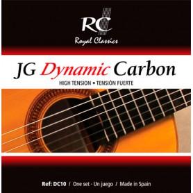 Cuerdas de Guitarra Clásica Royal Classics JG Dynamic Carbon