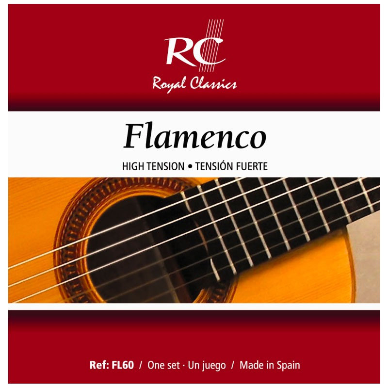 Cuerdas de Guitarra Clásica Royal Classics Flamenco