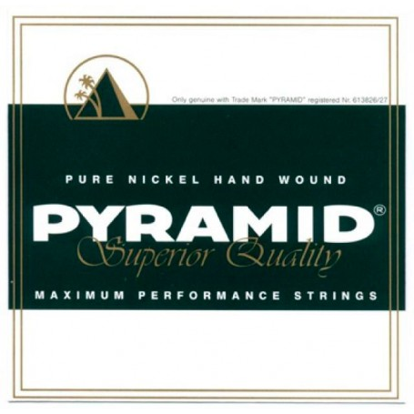 Cuerdas Eléctrica Pyramid Pure Nickel D504 Maximum Performance 11-48