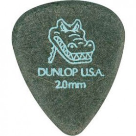 Púas Dunlop Gator Grip 2.00mm.