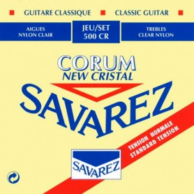 Savarez 500 CR Rectified New Cristal Classical Guitar Strings