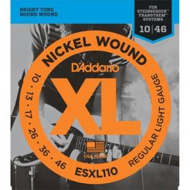 Cuerdas Eléctrica D´Addario ESXL110 10-46 Doble Bola