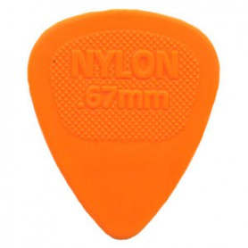 Dunlop Nylon Midi Pick 0.67mm.