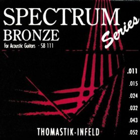 Thomastik Spectrum Bronze Acoustic Strings SB111 11-52