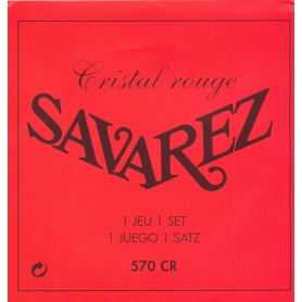 Cuerdas Clásica Savarez 570 CR Cristal Rojo NT