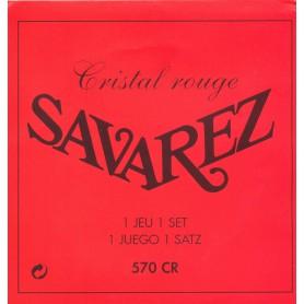 Cuerdas Clásica Savarez 570CR Cristal Rojo NT