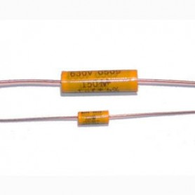Mallory 150 Series metallized polyester capacitor 0.100uF 630V