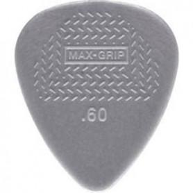Púas Dunlop Max Grip Nylon Standard 0.60mm.