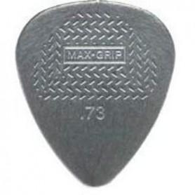 Púas Dunlop Max Grip Nylon Standard 0.73mm.
