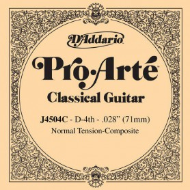 D´Addario ProArte J4504C Composite D Single String