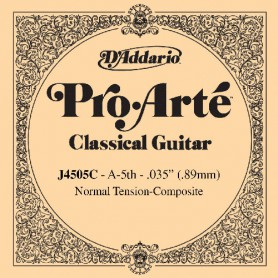 D´Addario ProArte J4505C Composite A Single String