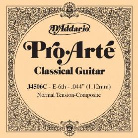 Cuerda Suelta D´Addario ProArte J4506C Composite 6ª E/Mi