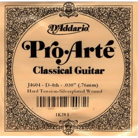D´Addario ProArte J4604 D Classical Single Guitar String