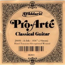 Cuerda Suelta D´Addario ProArte J4605 HT 5ª A/La