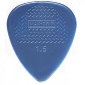 Púas Dunlop Max Grip Nylon Standard 1.50 mm.