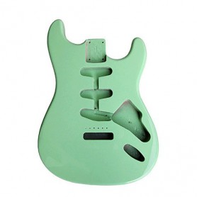Goldo Strat Surf Green Alder Body