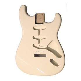 Goldo Strat Vintage White Alder Body