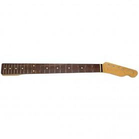 Mástil de Guitarra Eléctrica Goldo Tipo Tele Palorrosa 21 Trastes