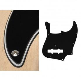 Golpeador para Bajo Tipo Jazz Bass Negro 3 Capas