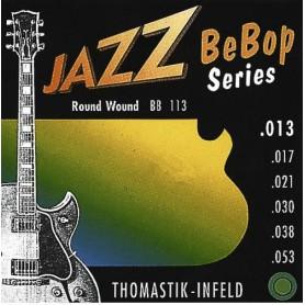 Cordes Elèctrica Thomastik Jazz Bebop BB113 13-53