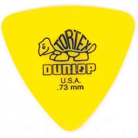 Dunlop Tortex Triangle 0.73 mm. Picks