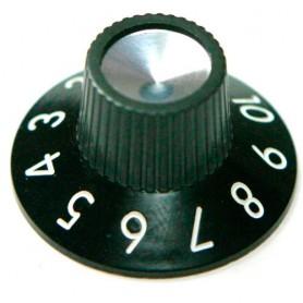 Botó de potenciometre d'amplificador tipus Fender Vintage