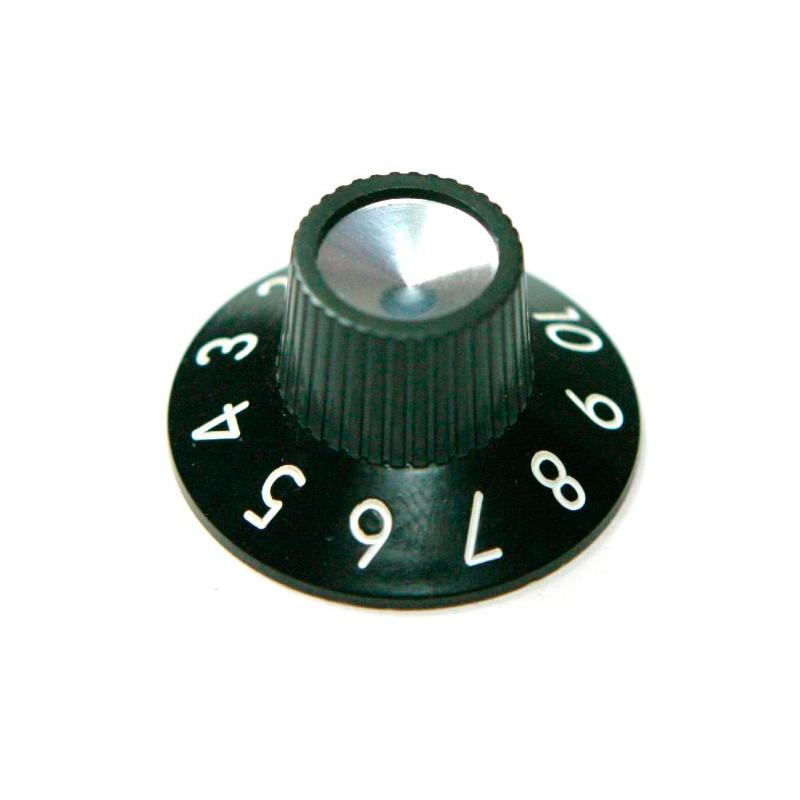 Botón de Potenciómetro de Amplificador tipo Fender Vintage