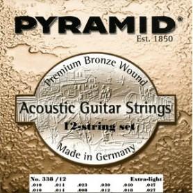 Cuerdas de Acústica Pyramid Premium Bronze 12 Strings 10-47