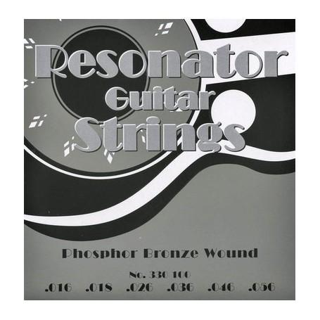 Cuerdas de guitarra acústica Dobro/Resonadora Pyramid Resonator 16-56-56_