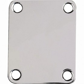 Placa de subjecció de mastil-Neck Plate Nickel