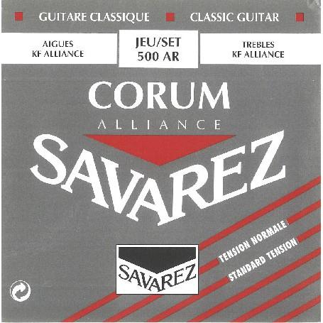 Cuerdas Clásica Savarez Corum Alliance 500AR Tensión Normal