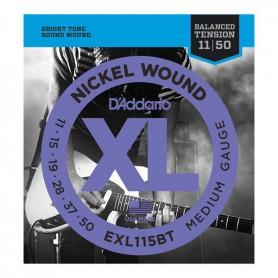 Cuerdas Eléctrica D´Addario EXL115BT 11-50 Balanced