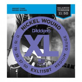 D´Addario EXL115BT Balanced Nickel Wound Electric Strings 11-50.