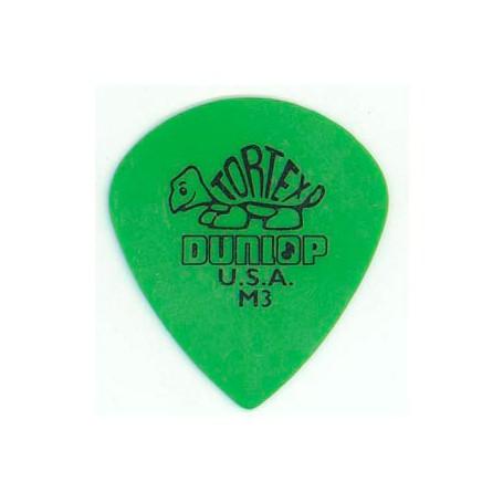 Púas Dunlop Tortex Jazz M3 Medium