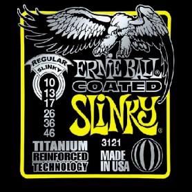 Ernie Ball 3121 Coated Titanium 10-46