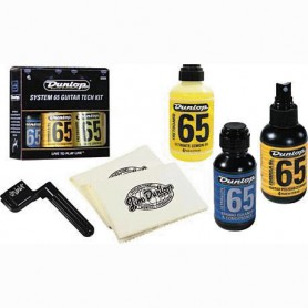 Kit de Limpieza de Guitarra Dunlop 6504 System 65 Guitar Tech Kit