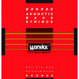 Warwick Red Label Acoustic Bass Strings 45-105